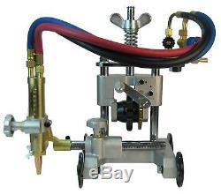 U-Weld SG30 Pipe Cutting Machine Beveling Torch Track Chain Burner Cutter