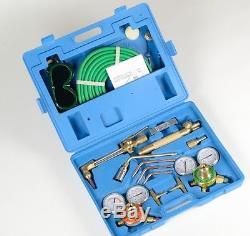 UL PRO BRASS VICTOR Type Gas Welding & Cutting Kit Oxygen Oxy Acetylene Torch