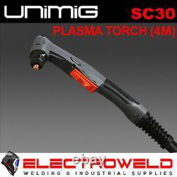 UNIMIG SC30 PLASMA TORCH 4 Metre VIPER CUT 30 Amp GUN WELDING CUTTER WELDER 30A