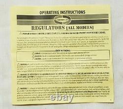 UNIWELD Regulator Set MR8210 Oxygen MR8211 Acetylene Cutting Welding Torch