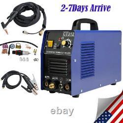 USA CT312 TIG/MMA/Cut 3-IN-1 Air Plasma Cutter Welder Welding Machine&Torches CE