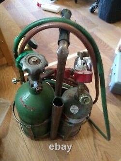 Uniweld welding cutting kit oxy acetylene oxygen torch