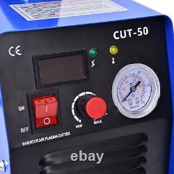 Upgrade DIGITAL CUT50 Inverter Air Plasma Welding Cutter Fit All Cut Torch US