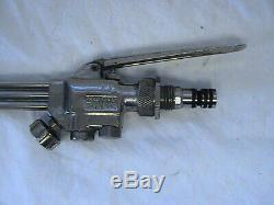 Used Smith Air/acetylene Torch Handle Mw5 With 3 Welding Tips 1 Mc509rj Cutting