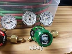 Used VICTOR Cutting Welding Torch Set CA270-V + WH270FC-V + 2 Regulators + Hoses