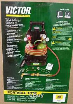 VICTOR 0384-0944 Portable Torch Welding & Cutting Outfit