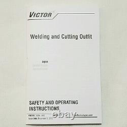 VICTOR CUTSKILL WH370FC-V Cutting Welding Torch Handle 300 Series Heavy Duty