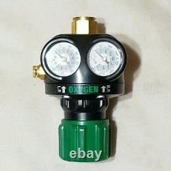 VICTOR EDGE ESS4-125-540 Oxygen Regulator Cutting Welding Torch 0781-5127