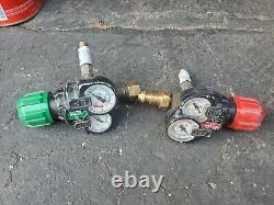 VICTOR EDGE REGULATOR SET 2.0 Oxygen Acetylene Cutting Welding Torch