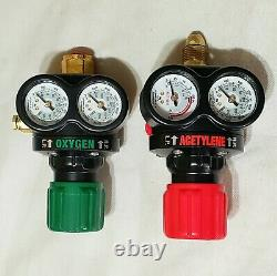 VICTOR EDGE Regulator Set ESS3 Oxygen Acetylene Cutting Welding Torch