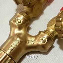VICTOR JOURNEYMAN 315C Cutting Welding Torch Handle 0382-0017 CA2460 USA Made