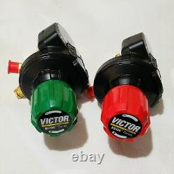 VICTOR Regulator Set ESS42 Edge 2.0 Oxygen Acetylene Cutting Welding Torch