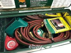 Victor 0384-0034 SuperRange II 540/300 Acetylene Cutting Welding Torch Kit 100FC