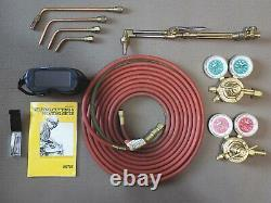 Victor 0384-0822 SuperRange II 540/300 Acetylene Cutting Welding Torch Kit