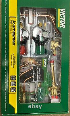Victor 0384-2101 Journeyman 540/510 Edge 2.0 Welding &Cutting Torch Outfit Set