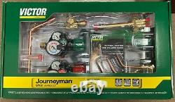 Victor 0384-2125 Journeyman 540/510 Edge 2.0 Welding, Cutting Torch Outfit Set