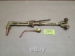 Victor 315 Welding Cutting Torch Set Oxygen Acetylene 2450 Head Tip