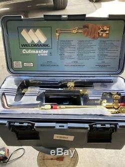Victor 350-510Dlx Lt Oxy/Act Cutting & Welding Torch Outfit