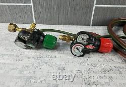 Victor Edge Regulator Set Oxygen Acetylene Cutting Welding Torch w CA1350 Head
