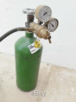 Victor Electric Port A Torch Kit Brazing Welding Cutting Oxygen Acetylene Tank
