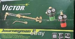 Victor Journeyman 2 Torch Kit Acetylene Cutting/Heating/Welding Kit