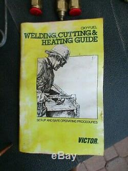 Victor Oxy Acetylene Cutting/Welding Torch & Tip, Hoses, Gauges, Goggles & More
