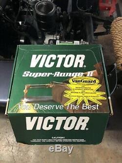 Victor Super Range 2 Cutting Torch, Tip, Nozzle, Regulators