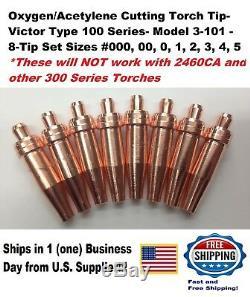 Victor Type 100 Series Cutting/welding Torch Tip Set-us Supplier
