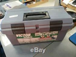 Victor Type Acetylene Oxygen Torch Regulator Set Gas Welding and Cutting Kit NEW