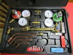 Victor Type Gas Welding & Cutting Kit, Oxygen Oxy Acetylene Torch
