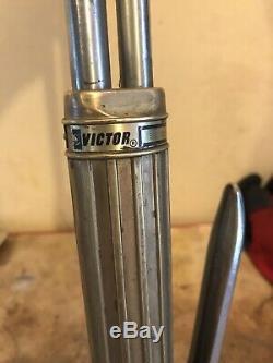 Victor oxygen acetylene Long welding cutting torch MAKE AN OFFER! MUST SELL