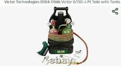 Victor oxygen acetylene welding cutting torch kit