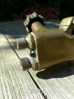 Vintage Cutting Welding Torch A Brass Made By Messer-grieshein Collector