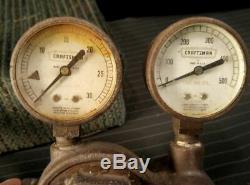 Vintage Sears Craftsman Oxy-Acetylene Cutting Welding Torch Regulators LOT