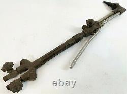 Vintage VICTOR JOURNEYMAN CA2460 & 315FC Brass Metal Welding Cutting Torch Set