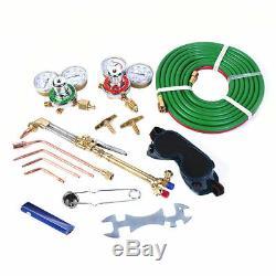 Welder Gas Welding Cutting Kit Acetylene Oxygen Torch Hose Set