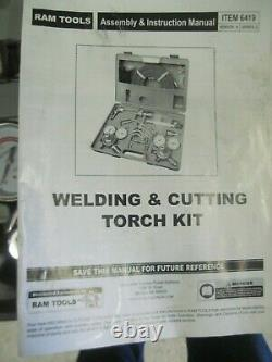 Welding & Cutting Torch Kit Made By Ram Tools