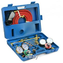 Welding Kit Victor Type Oxygen Acetylene Cutting Torch Burner with 15' twin hose
