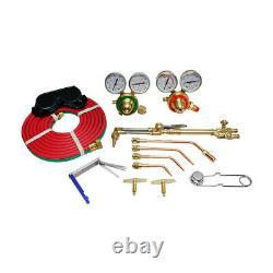 Welding and Cutting Kit Victor Type UL Acetylene Oxygen Torch Set Regulator